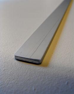Underlist aluminium 100cm