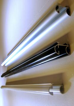 Gardinskena Panela 2-spår Metervara